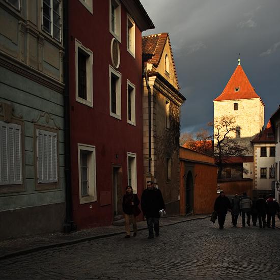 Černá věž - Pražský hrad