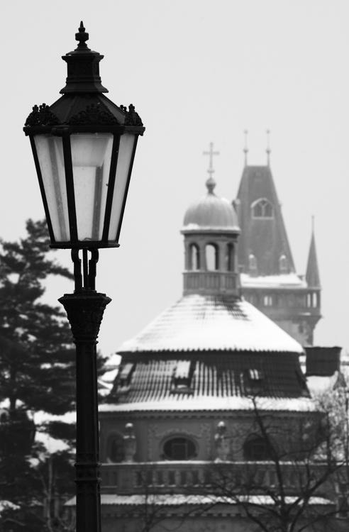 Lampa na Karlově mostě