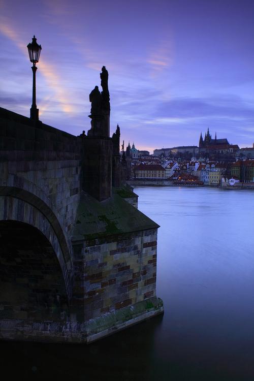 Modrý Karlův most