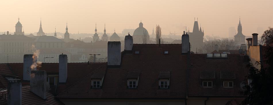 Praha, město komínů