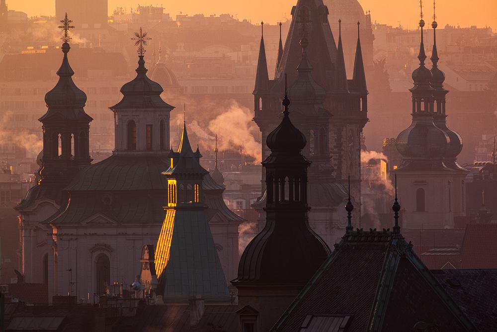 Kompozice pražských věží