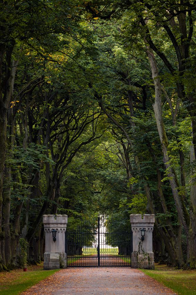 Brána v oboře Hvězda