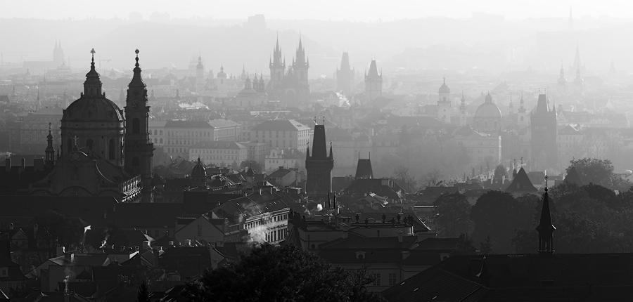 Opar nad Prahou