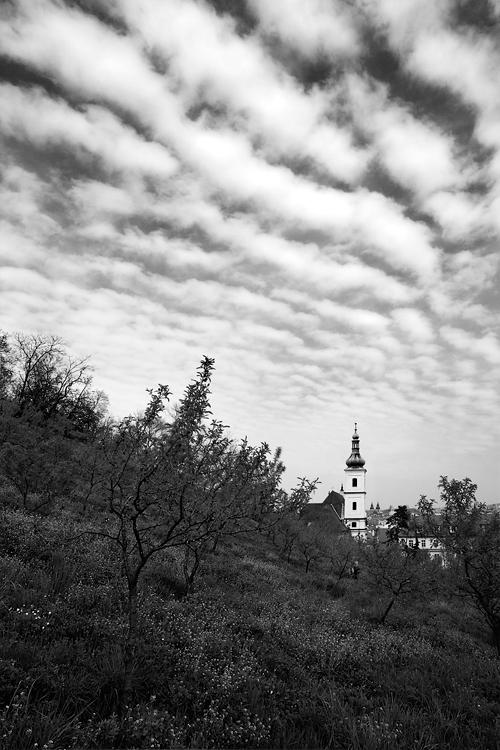 Panna Marie Vítězná - mraky