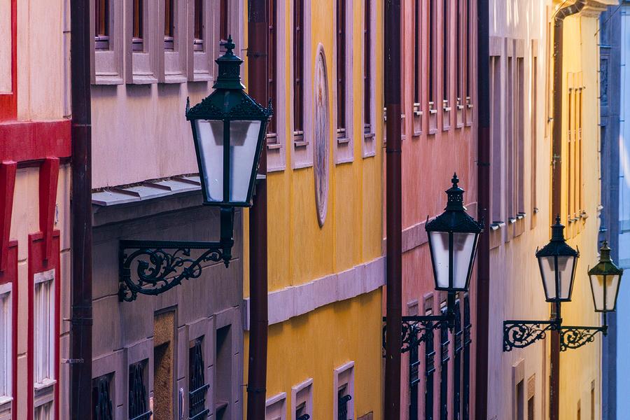 Pastelové lampy