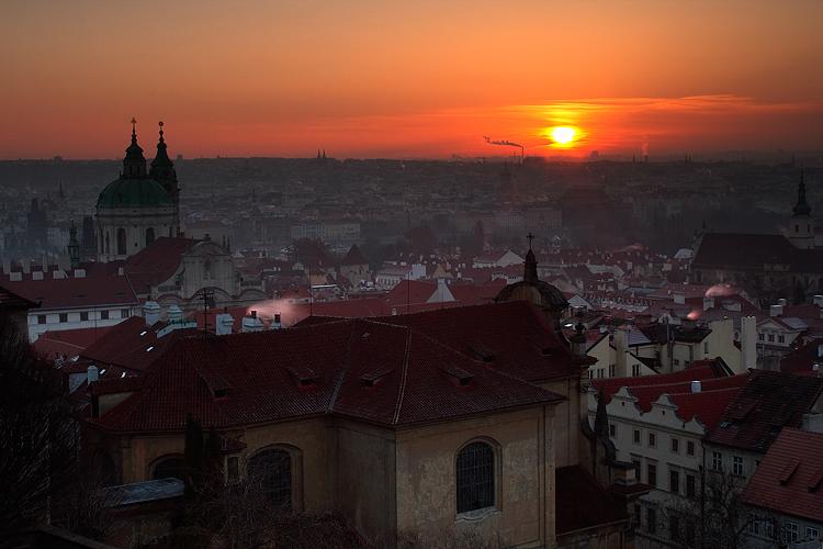 Praha a její rána