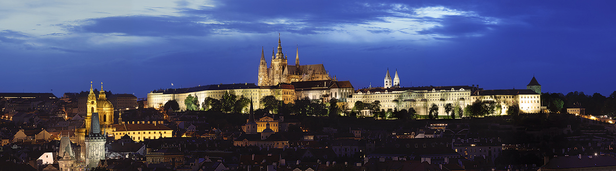 Panorama Pražského Hradu