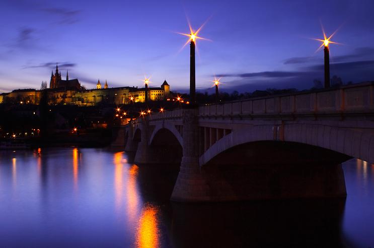 Pražský hrad - mostecké hvězdy