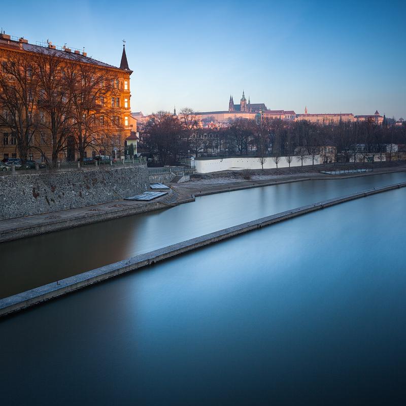 Pražský hrad a Kampa