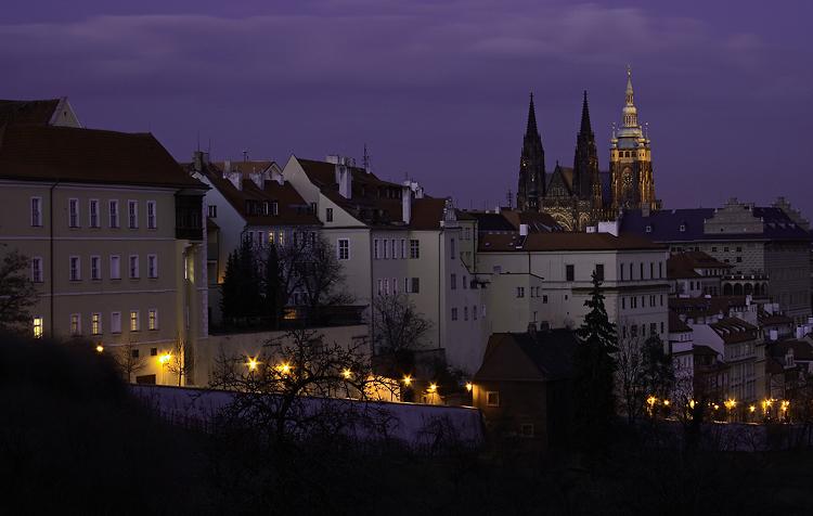 Soumrak na Pražském hradě