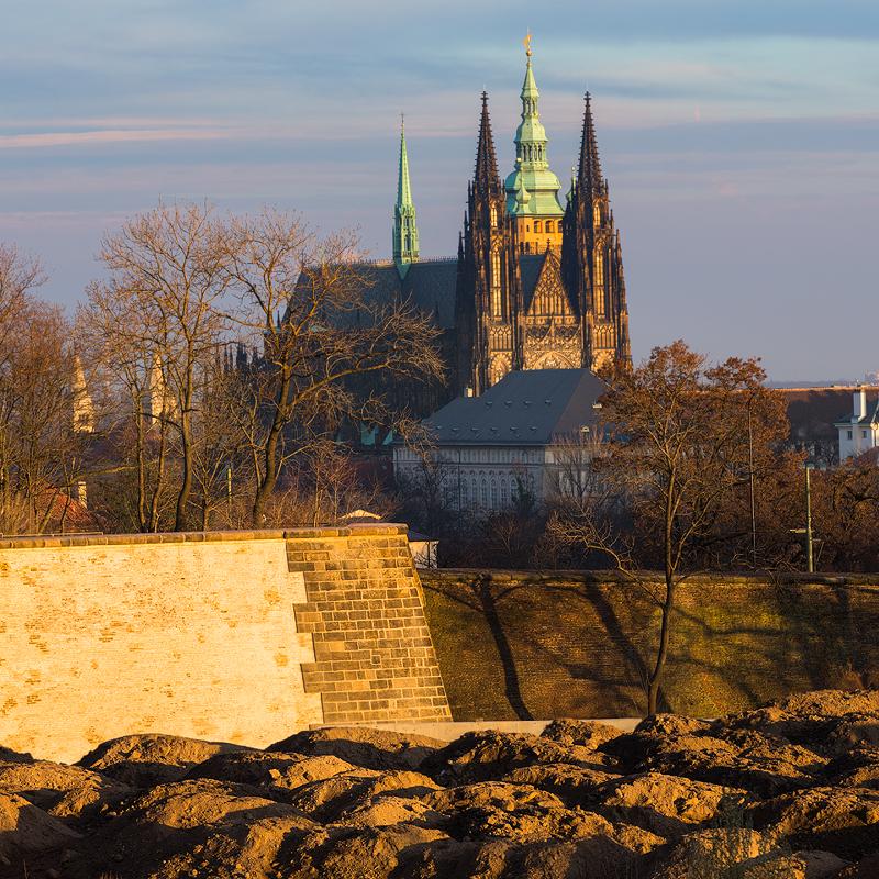Pražský hrad ze Střešovic