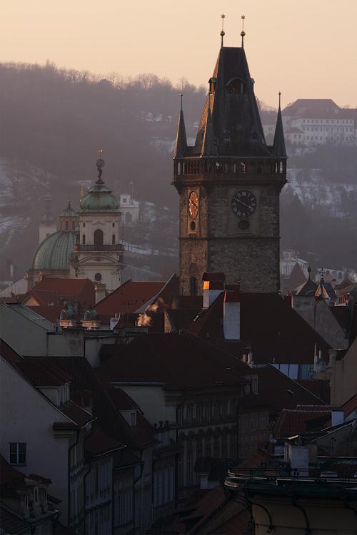 Staroměstská radnice a Klementinum