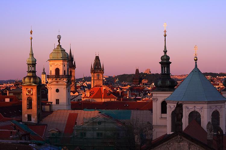 Praha Stověžatá