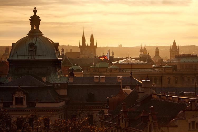 Střechy nad Strakovkou