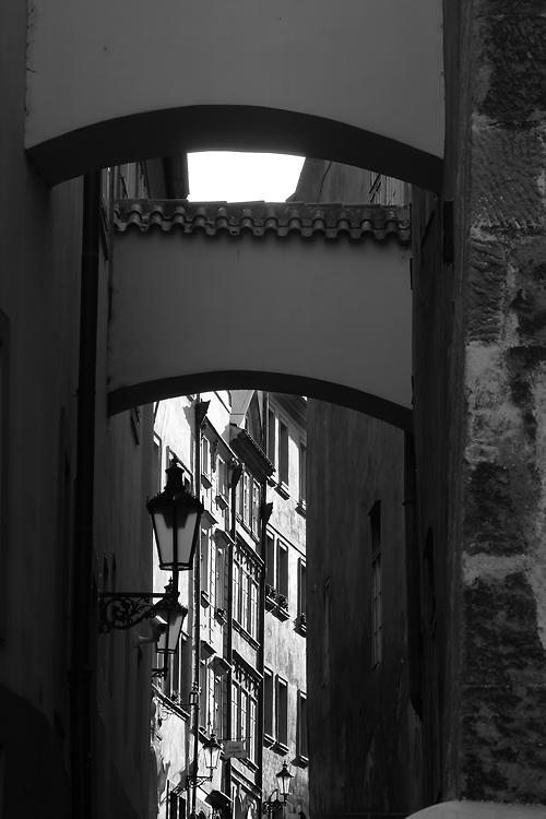 Lampy v Thunovské ulici