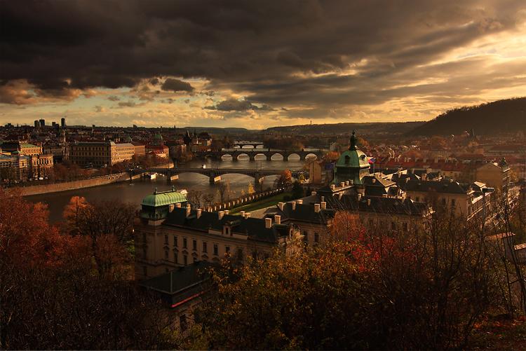 Podzimní Vltava