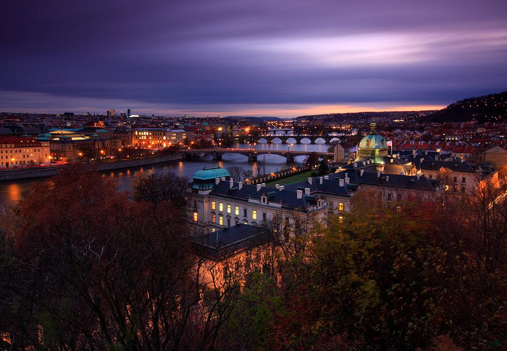 Praha a její barvy