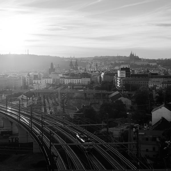 Pražská železnice - Nové spojení